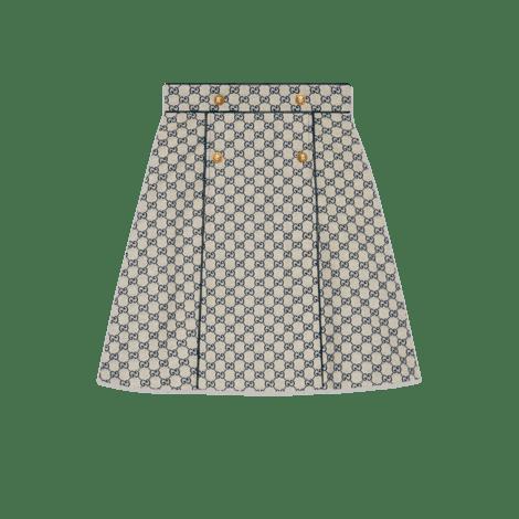 GG帆布A字半身裙