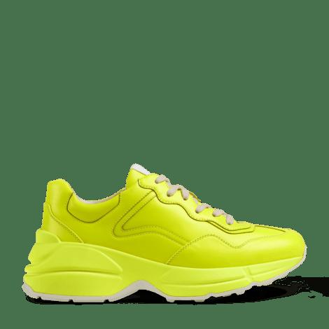 Rhyton系列荧光皮革运动鞋