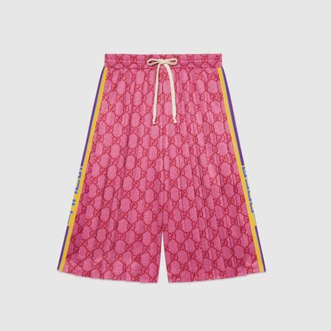 GG平纹针织短裤