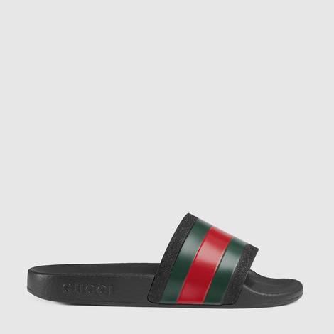 儿童织带装饰橡胶便鞋