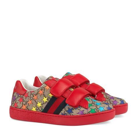 儿童GG彩虹星星运动鞋