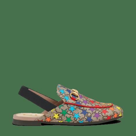 Princetown系列儿童GG彩虹星星拖鞋