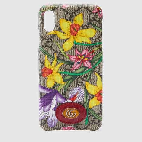Ophidia系列GG花卉iPhone XS Max保护套