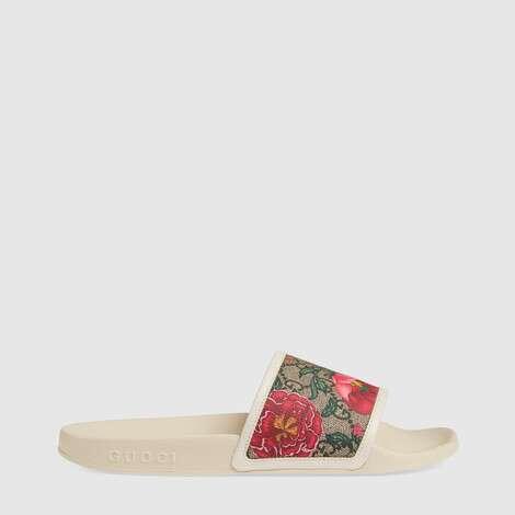 GG花卉拖鞋