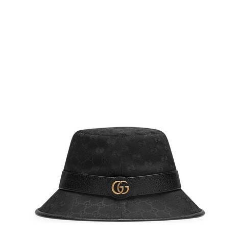 饰双G帆布渔夫帽