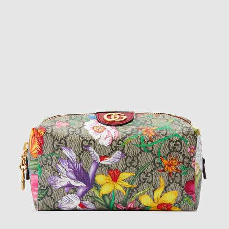Ophidia系列GG花卉化妆包