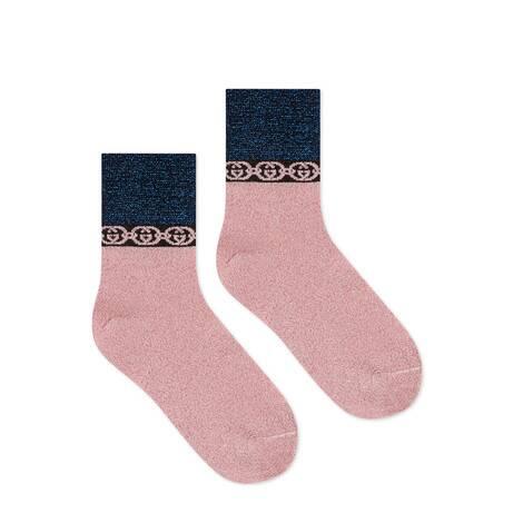 互扣式G链条短袜