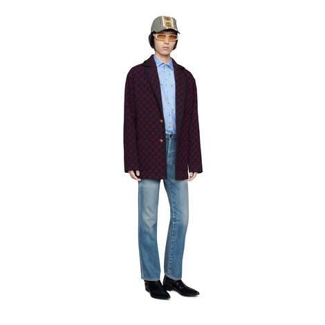 GG羊毛夹克