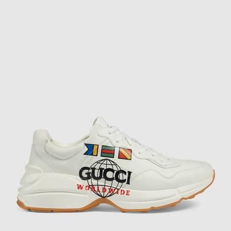 "Rhyton系列饰""Gucci Worldwide""男士运动鞋"