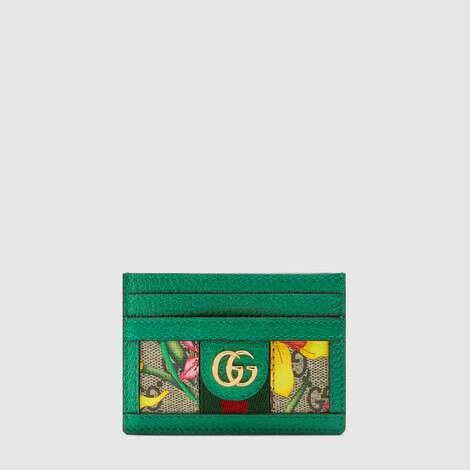 官网专享Ophidia系列GG花卉卡片夹