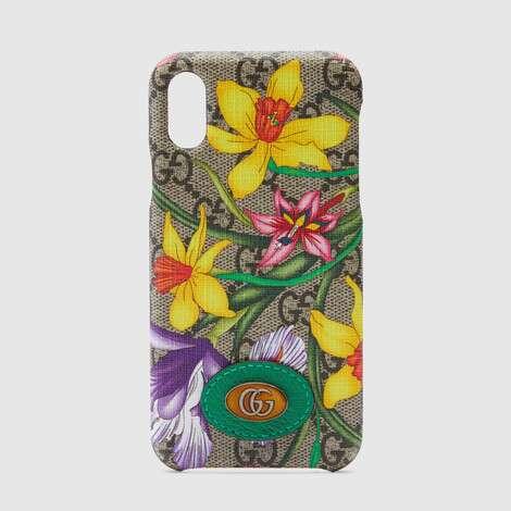 官网专享Ophidia系列GG花卉iPhone X/XS保护套