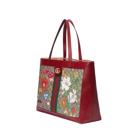Ophidia系列GG花卉中号购物袋