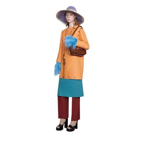 羊毛真丝混纺短款连衣裙