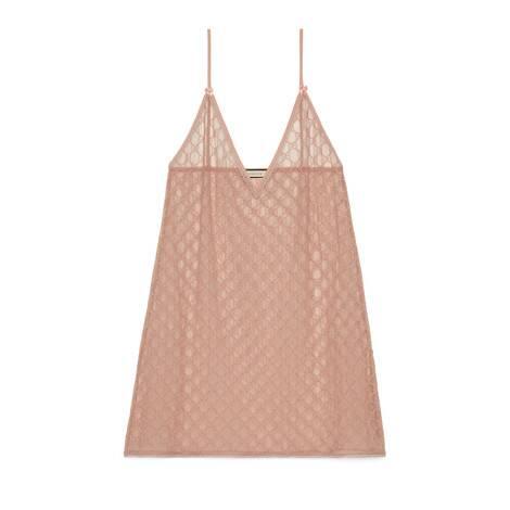 GG薄纱吊带衬裙