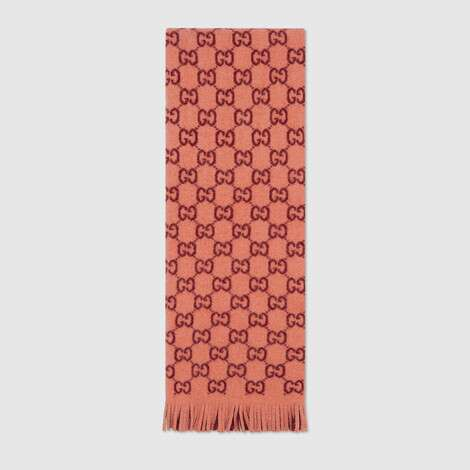GG提花围巾