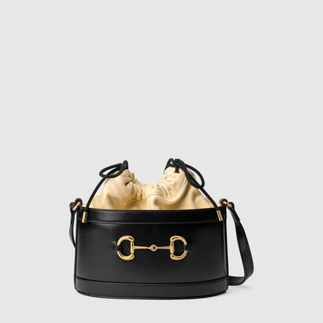 Gucci 1955马衔扣水桶包