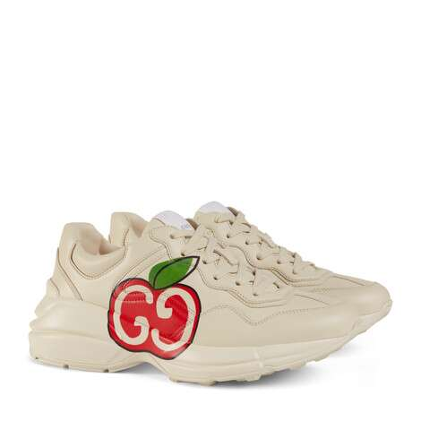 Rhyton系列女士GG苹果运动鞋