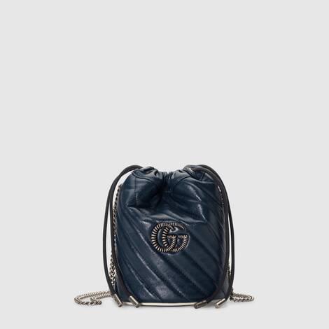 GG Marmont系列迷你水桶包