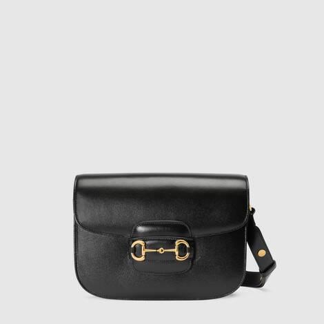 Gucci 1955马衔扣肩背包