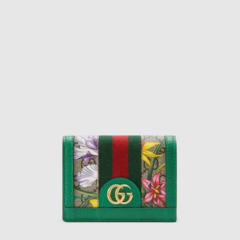 官网专享Ophidia系列GG花卉卡包