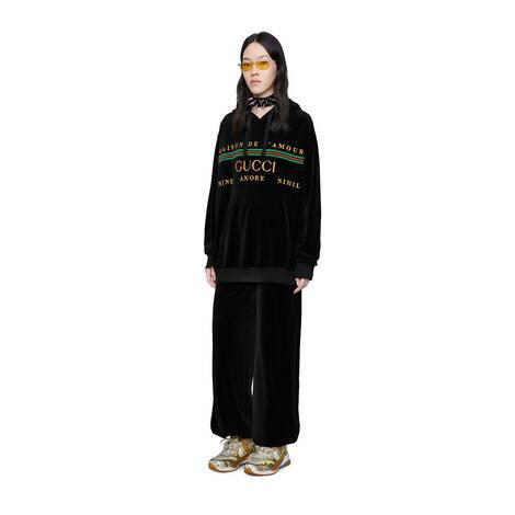 Gucci 刺绣超大造型卫衣