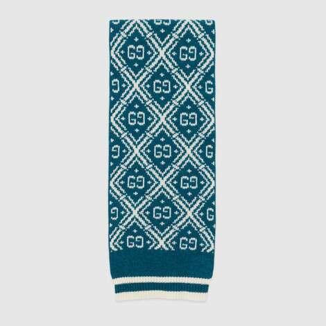 儿童GG羊毛围巾