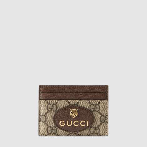 Neo Vintage高级人造帆布卡片夹