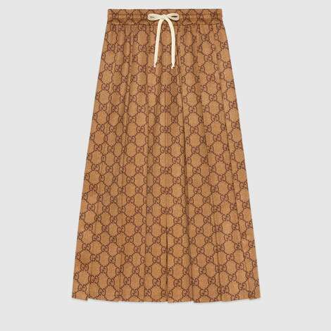 GG平纹针织半身裙