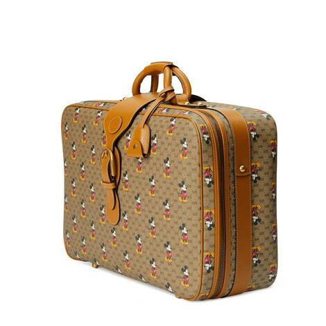 Disney x Gucci小号行李箱