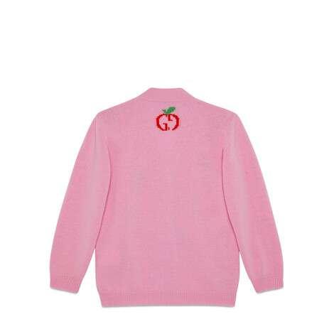 儿童GG苹果羊毛开衫