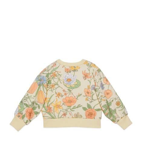 儿童Gucci网球刺绣卫衣