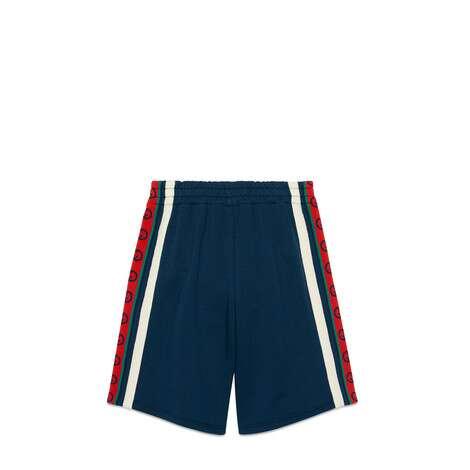 儿童互扣式双G棉质短裤