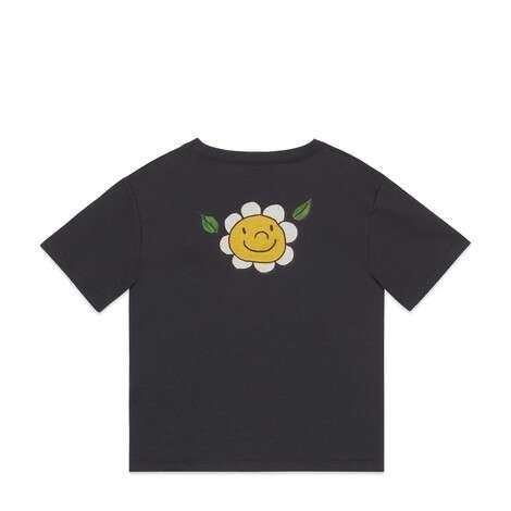 儿童Gucci Band印花棉质T恤