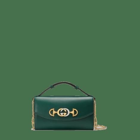 Gucci Zumi系列迷你肩背包