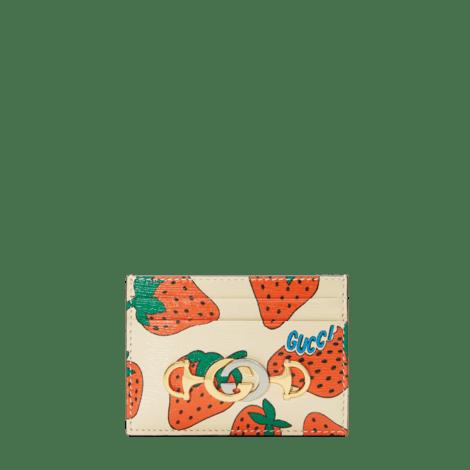 Gucci Zumi系列卡片夹