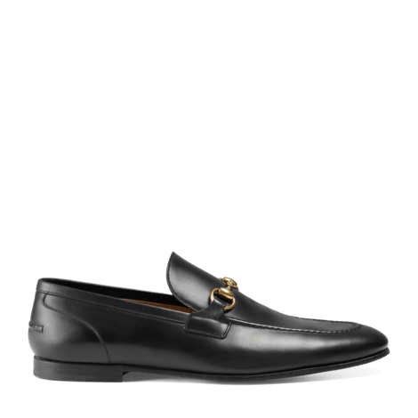 Gucci Jordaan系列 皮革马衔扣乐福鞋