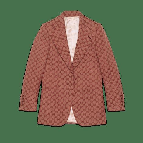 女士GG帆布夹克