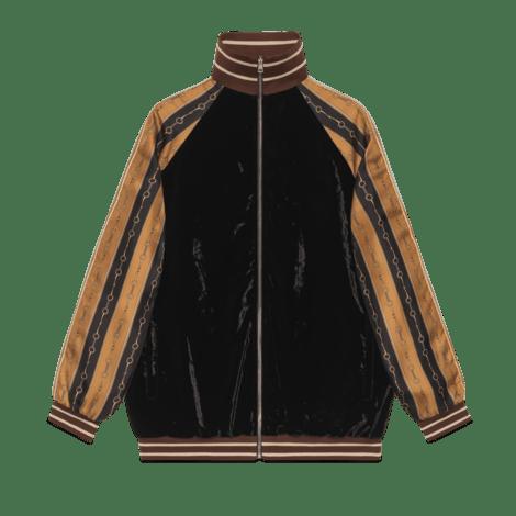双材质夹克