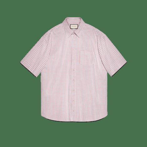超大造型牛津棉衬衫