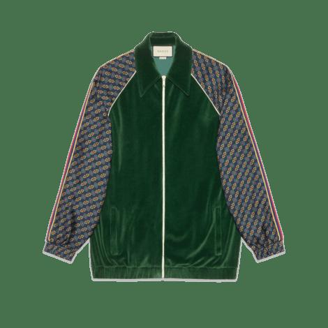 双材质超大造型夹克