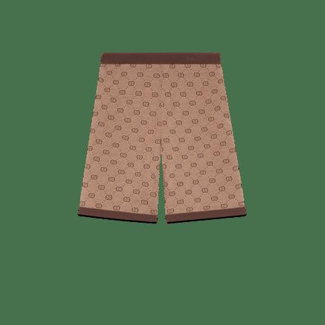 GG提花针织短裤