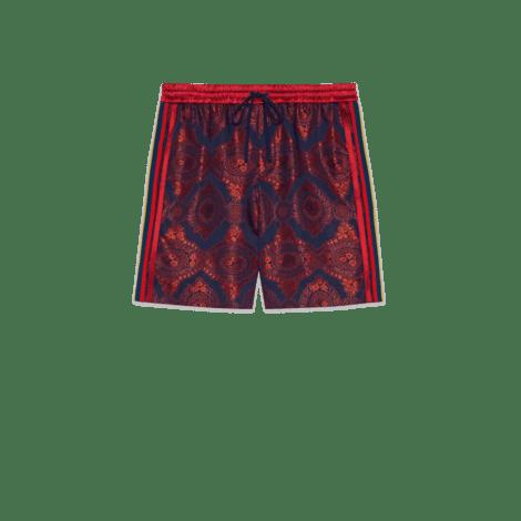巴洛克风格提花短裤