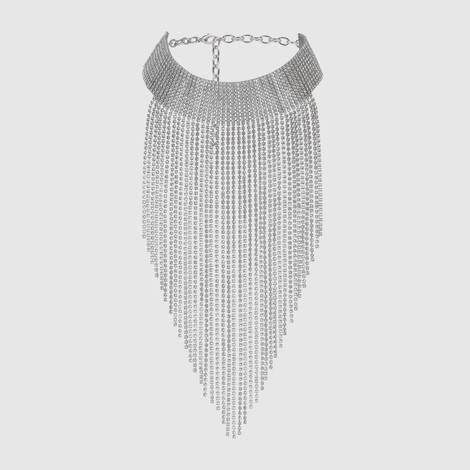 水晶金属项链