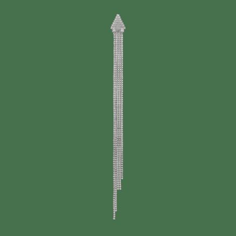 饰水晶单边耳环