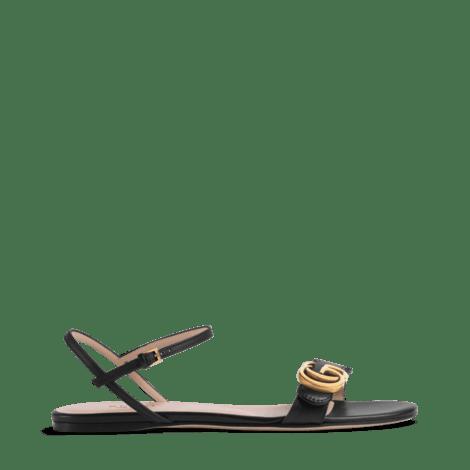 皮革双G凉鞋