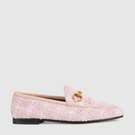 Gucci Jordaan系列花呢乐福鞋