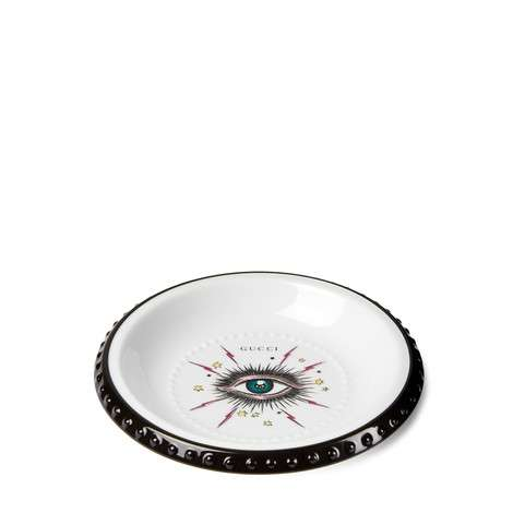 星眼印花烟灰缸