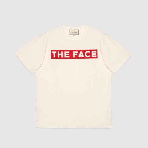 """The Face""廓形 T 恤"