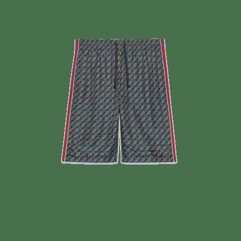 双材质短裤