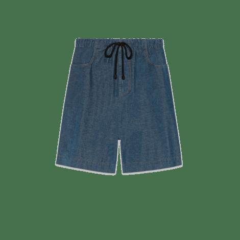 弹力灯芯绒短裤